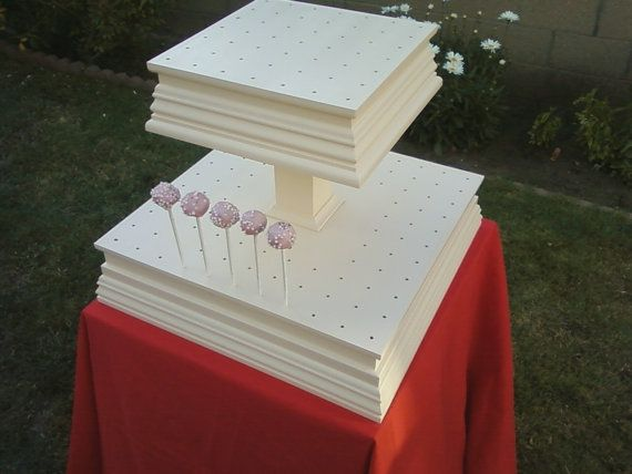Diy Cake Pop Stand Pinterest