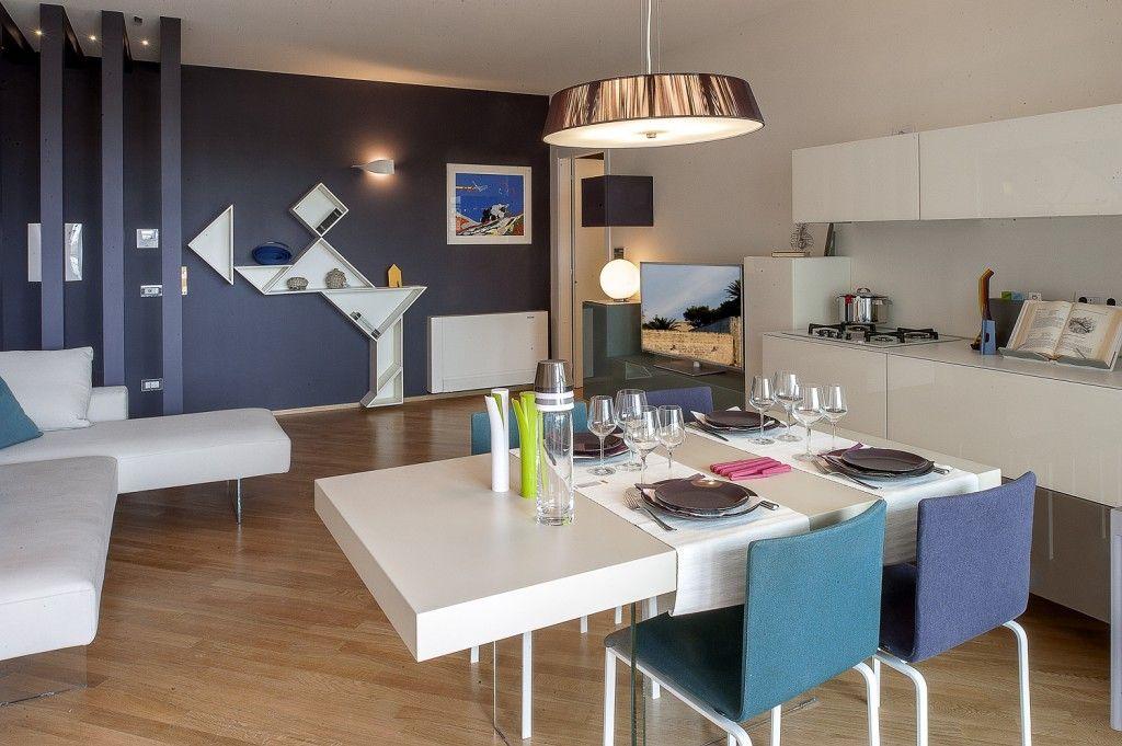 Risultati immagini per cucina soggiorno 20 mq | Piccole cucine nel ...