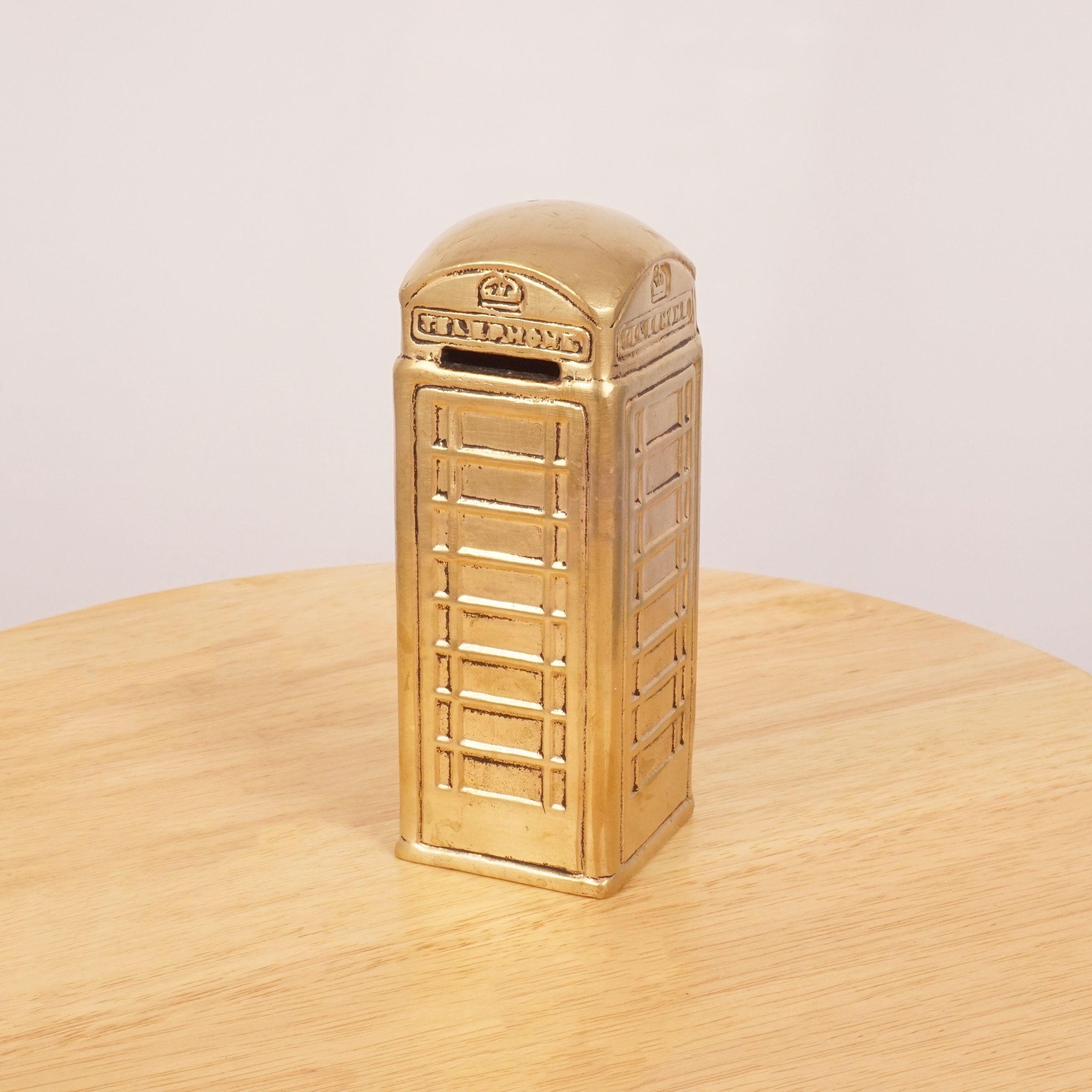 Vintage Solid Brass Bank