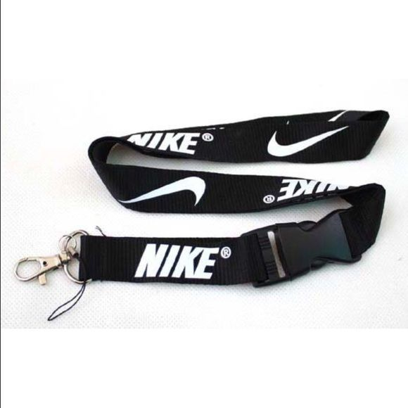bacda2d73 New Nike Lanyard Black/white Nike Lanyard, nwot, 2' long. Nike Accessories  Key & Card Holders