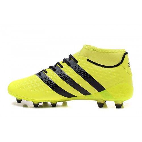 size 40 bad70 14c2e ... get adidas ace negozio adidas ace 16.1 primeknit fg ag giallo scarpe  calcio a4694 05688