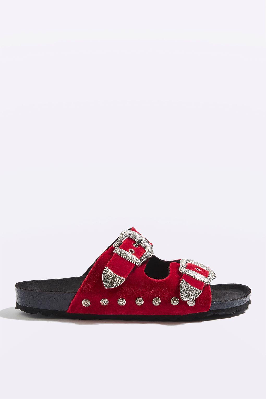 560b6e17d06b63 FALCON Buckle Sandals - Sandals - Shoes