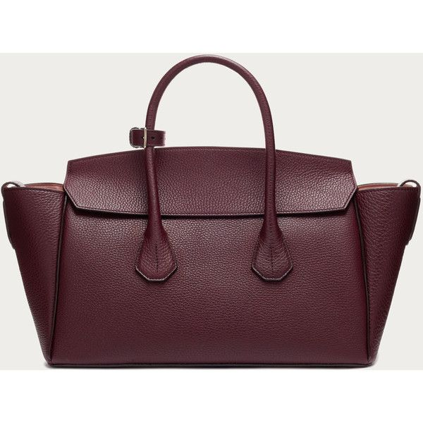 9d4106f848 Bally SOMMET MEDIUM Women s medium cherry leather tote bag ( 1