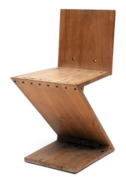 Gerrit Rietveld Zig Zag Fun Furniture Design Rietveld Chair Chair Design