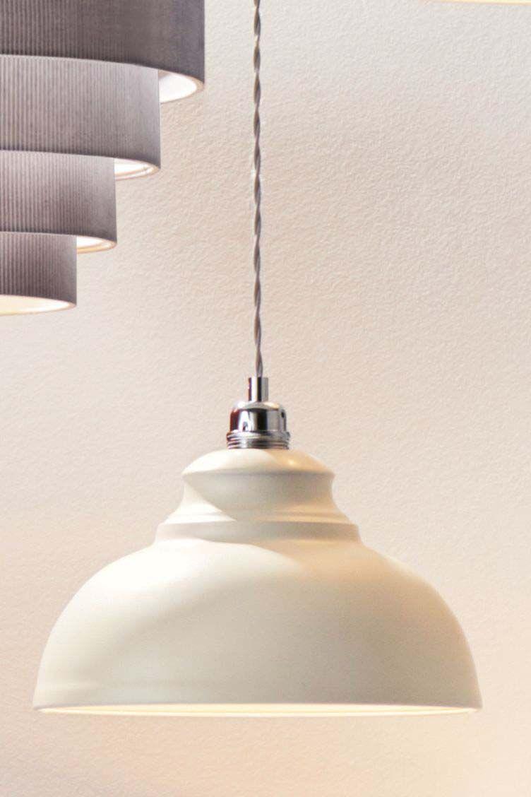 Next Dixon Easy Fit Pendant Cream Light Fittings Led Bulb Wall Ceiling Lights