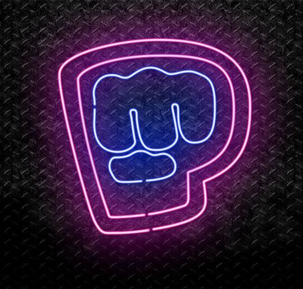 Pewdiepie Brofist Logo Neon Sign Neon Signs Pewdiepie