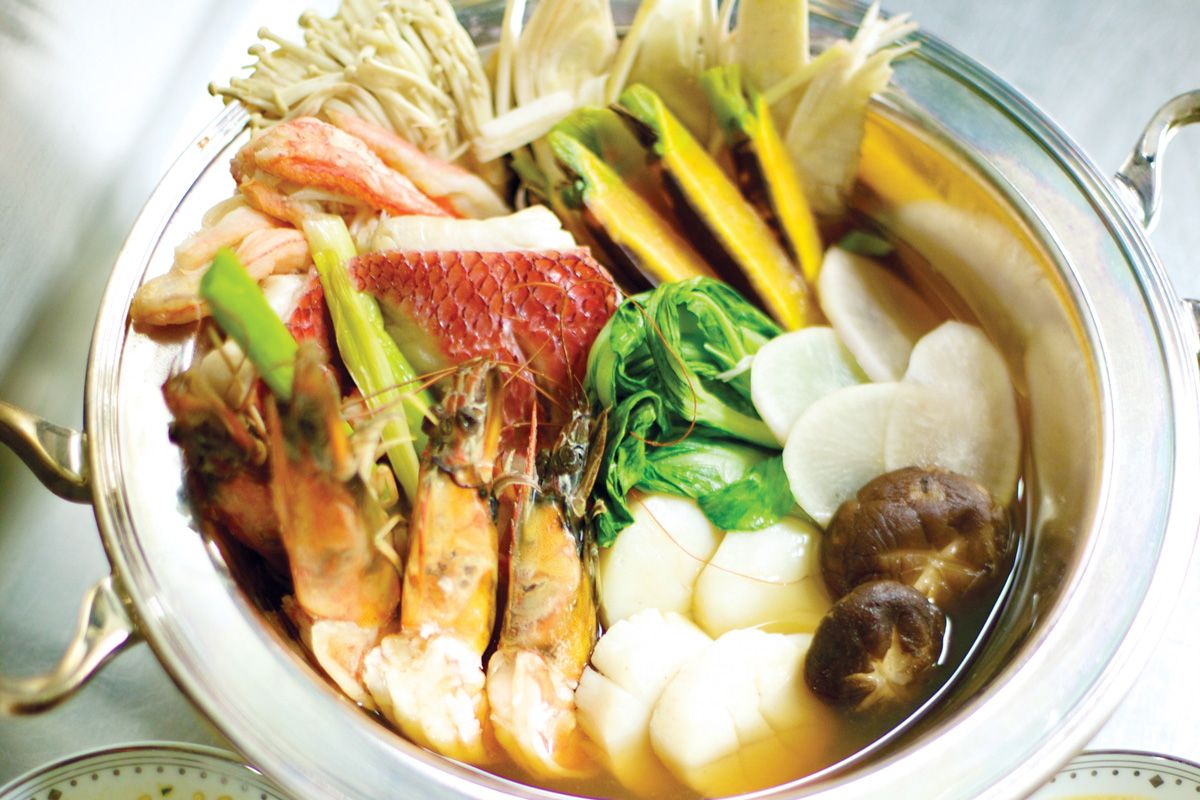 recipe shabu shabu kai  hawaii magazine  pumpkin crunch