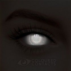 ca2d5363d37 White Screen UV i-Glow Halloween Colored Contact Lenses (90 Days ...