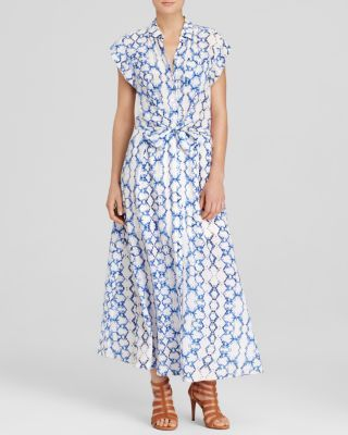 Rebecca Taylor Shirt Dress - Print Maxi | Bloomingdale's