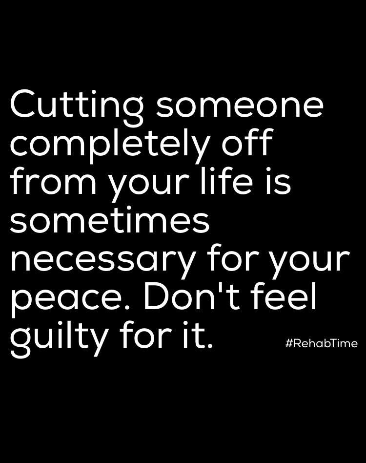 Dont Feel Guilty For Leaving A Negative Relationship Quotes