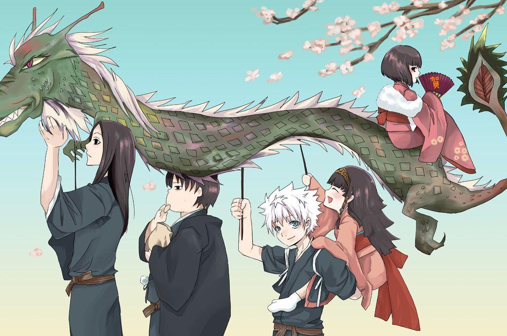 Illumi Zoldyck HunterXHunter Hunter X HxH Family Anime