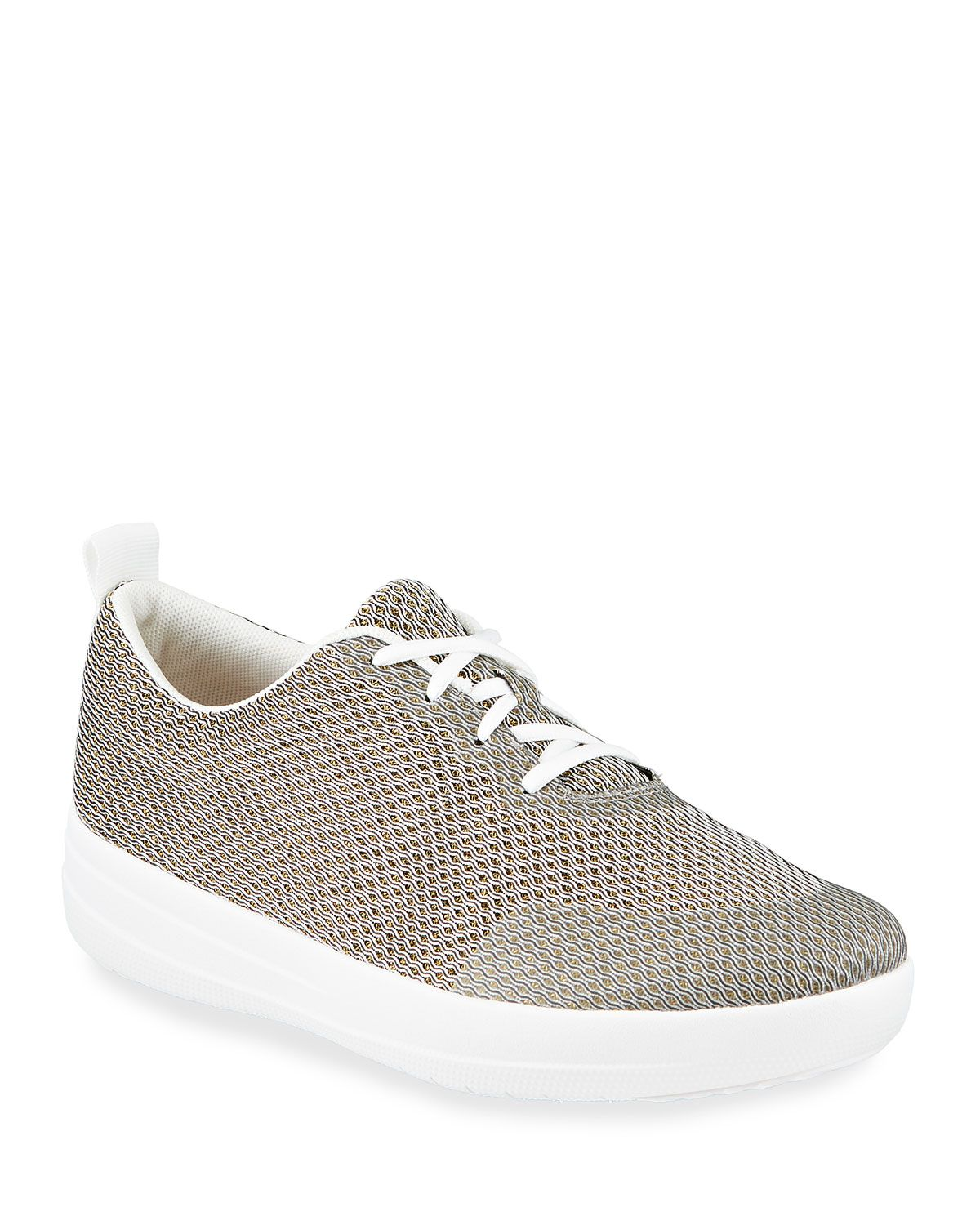 FITFLOP F-SPORTY KNIT MESH SNEAKERS