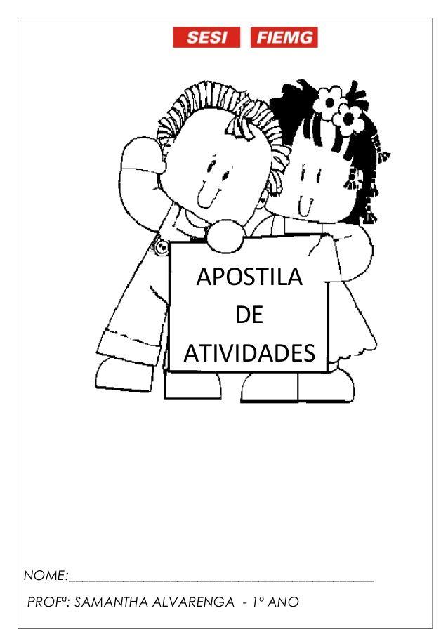 Well-known Apostila de reforço escolar | TAREFAS ESCOLARES | Pinterest  ZX91