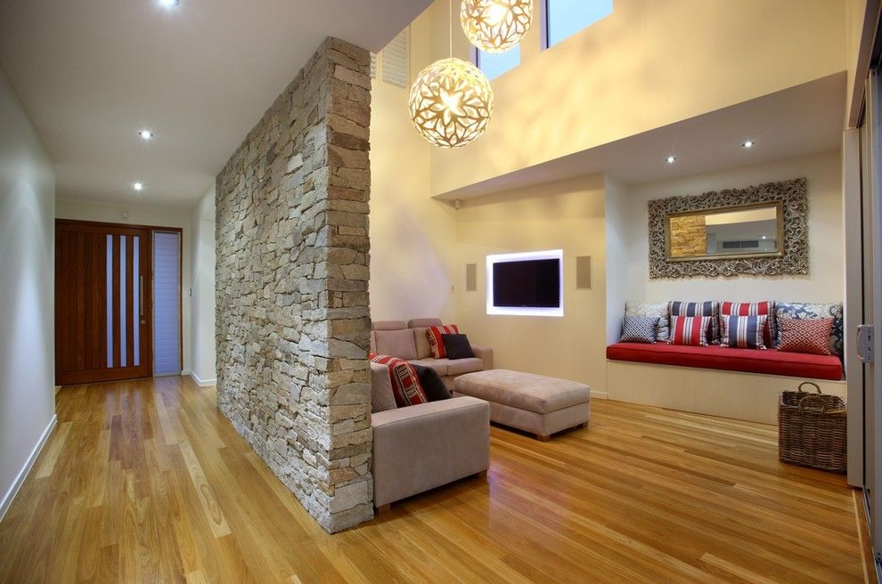 trennwand steinwand wohnzimm Wohnzimmer \u2013 Einrichtungsideen