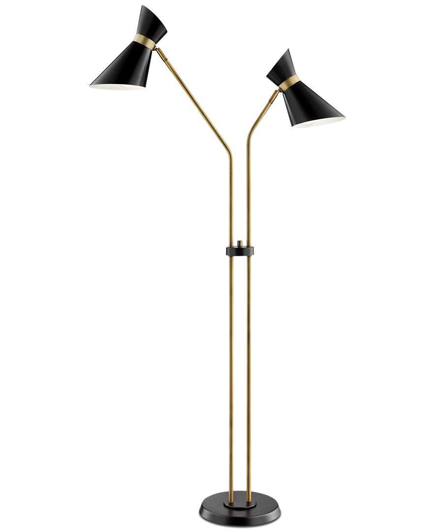 Lite Source Jared 2 Light Floor Lamp