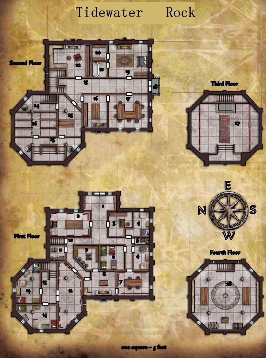 Forte Kharis Mapa 01 Em 2020 Mapas Do Dungeon Mapa Rpg Map