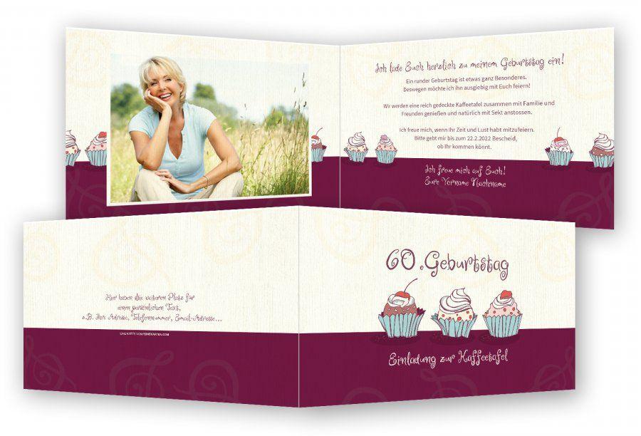 Einladungskarten Runder Geburtstag : Einladungskarten