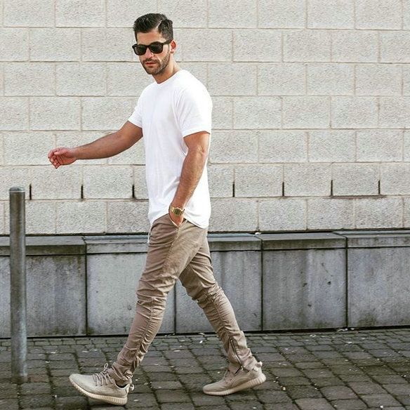 summer yeezy outfit