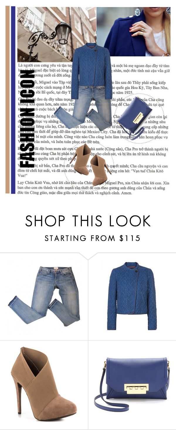 """""""Wear in blue"""" by sany-many ❤ liked on Polyvore featuring Comptoir Des Cotonniers, Jessica Simpson and ZAC Zac Posen"""