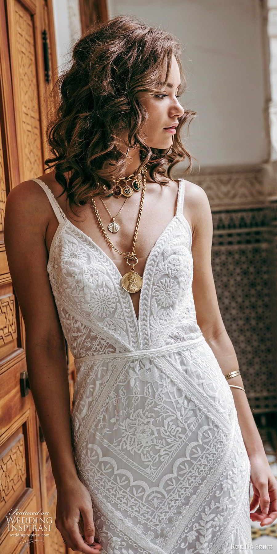 "Photo of Rue De Seine 2019 Wedding Dresses — ""Wild Heart"" Bridal Collection 