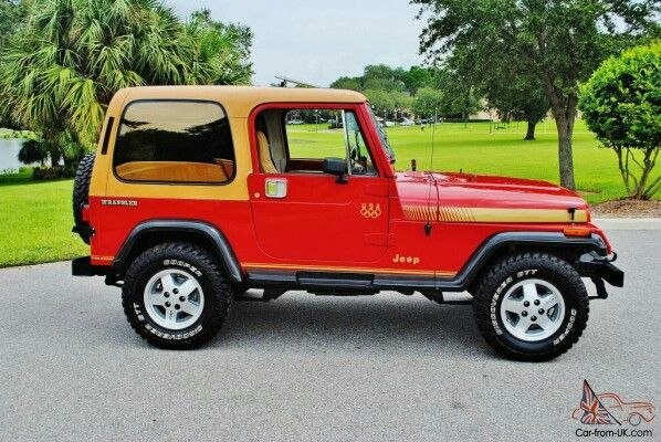 This is the color !!!!! Restored Jeep Wrangler 1988 grenadine red.