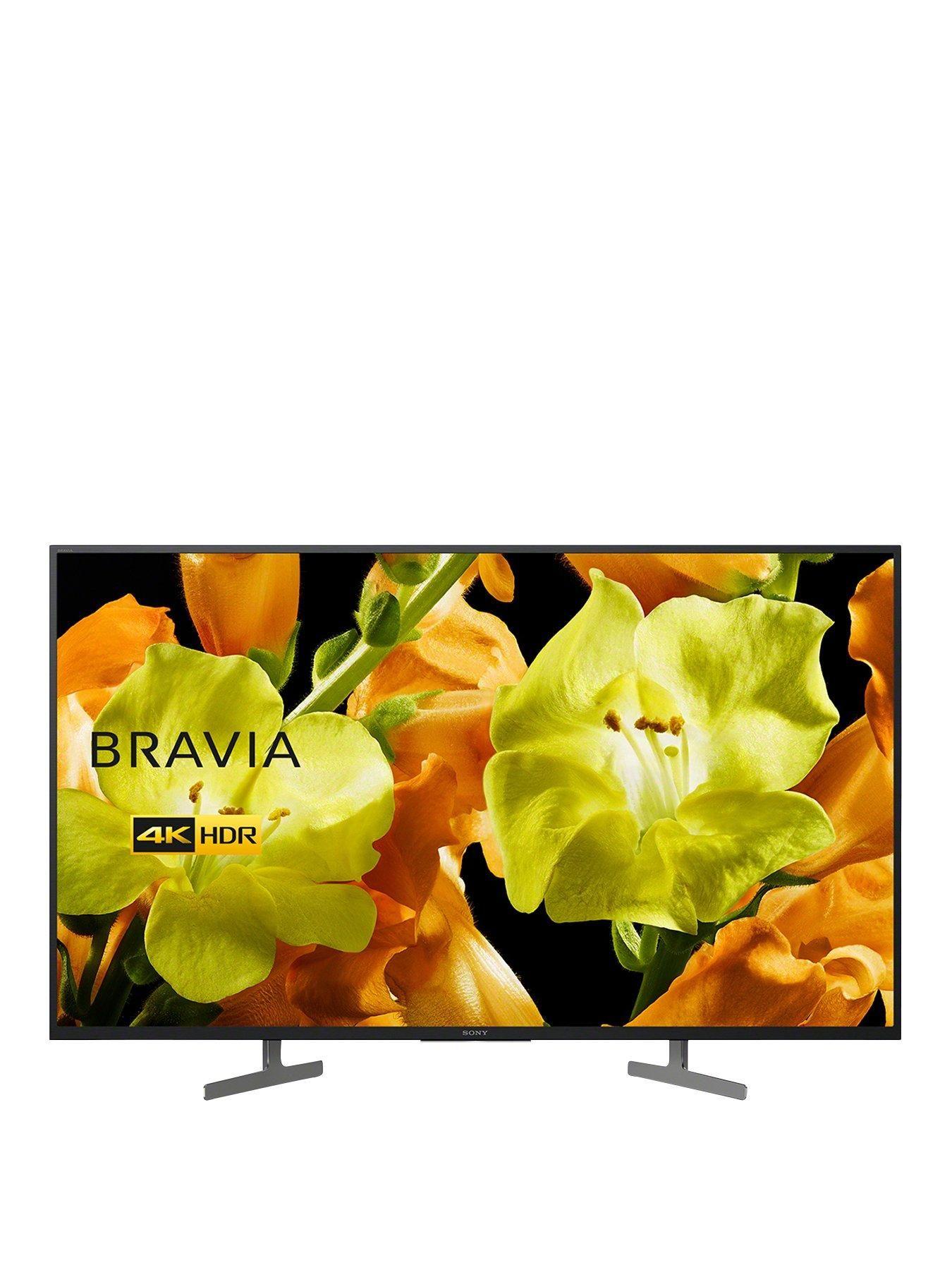 Bravia Kd43xg81 43 Inch 4k Ultra Hd Hdr Smart Tv Black