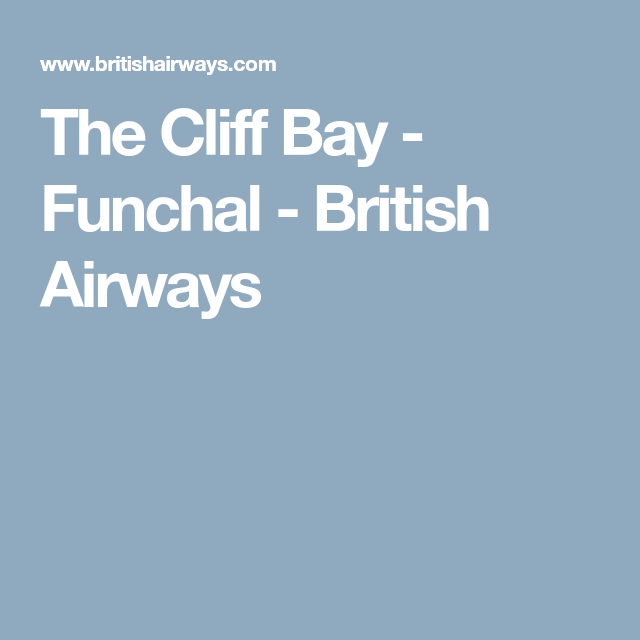 The Cliffs Apartments: The Cliff Bay - Funchal - British Airways
