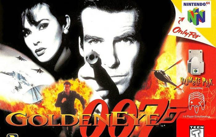 Goldeneye 007 Nintendo Snes 64 Movie Posters Poster Movies