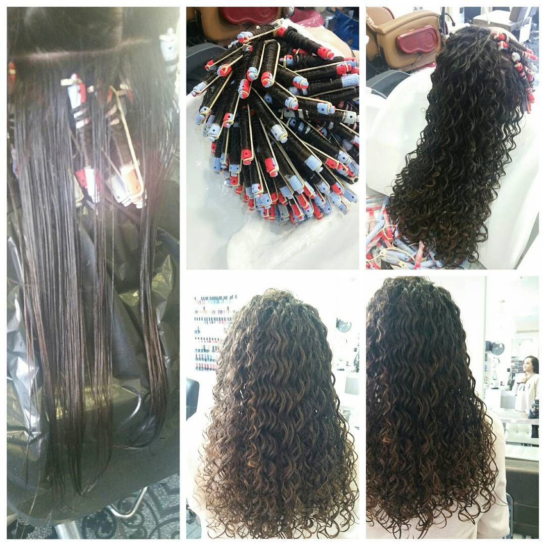Spiral Perm Permed Hairstyles Curly Hair Styles Hair