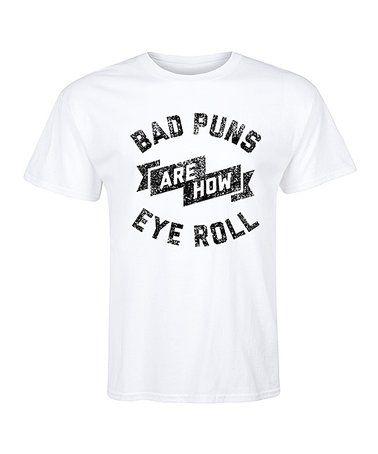 Male I Giochi Di Parole Sono Come Occhio Roll T-shirt eaXijfQWz