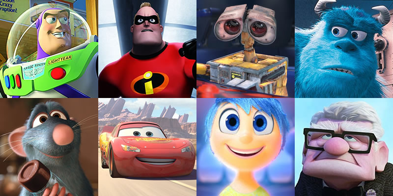 Every Pixar Movie, Ranked From Worst to Best in 2020