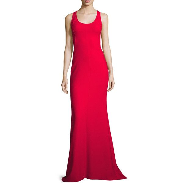 Elizabeth And James Ava Sleeveless Ponte Gown (£500) ❤ liked on ...