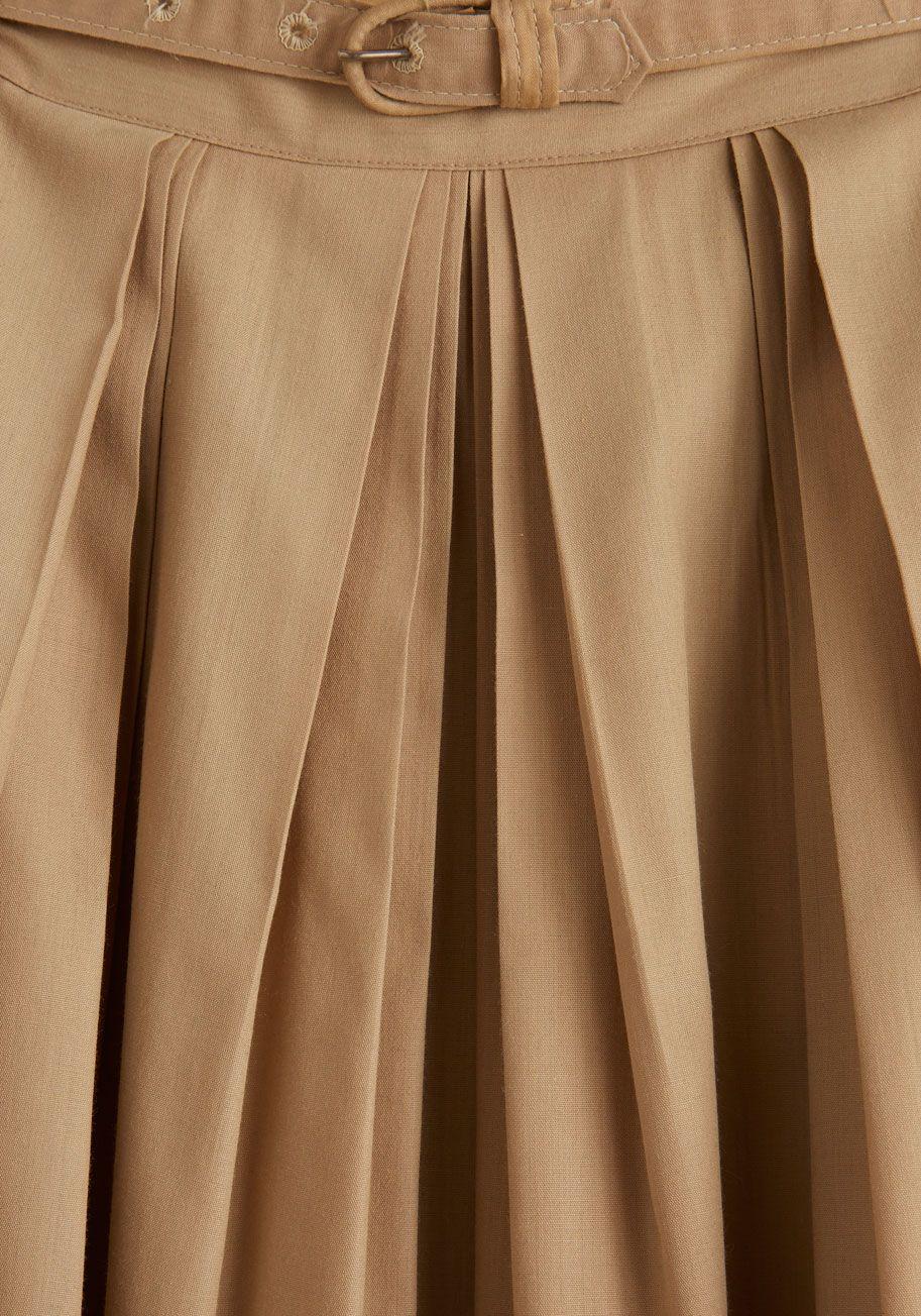 Vintage Acoustic With Me Skirt | Mod Retro Vintage Vintage Clothes | ModCloth.com