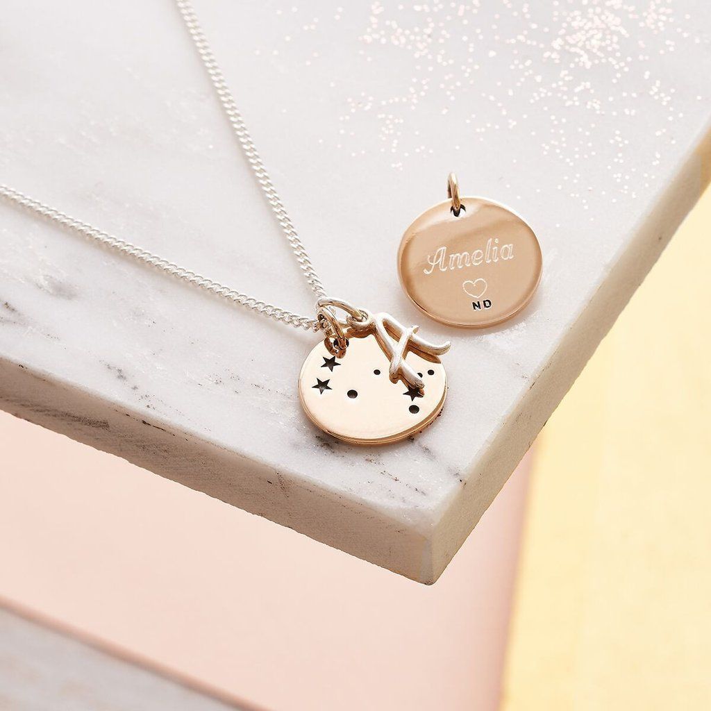 Personalised Engraved Silver Charm