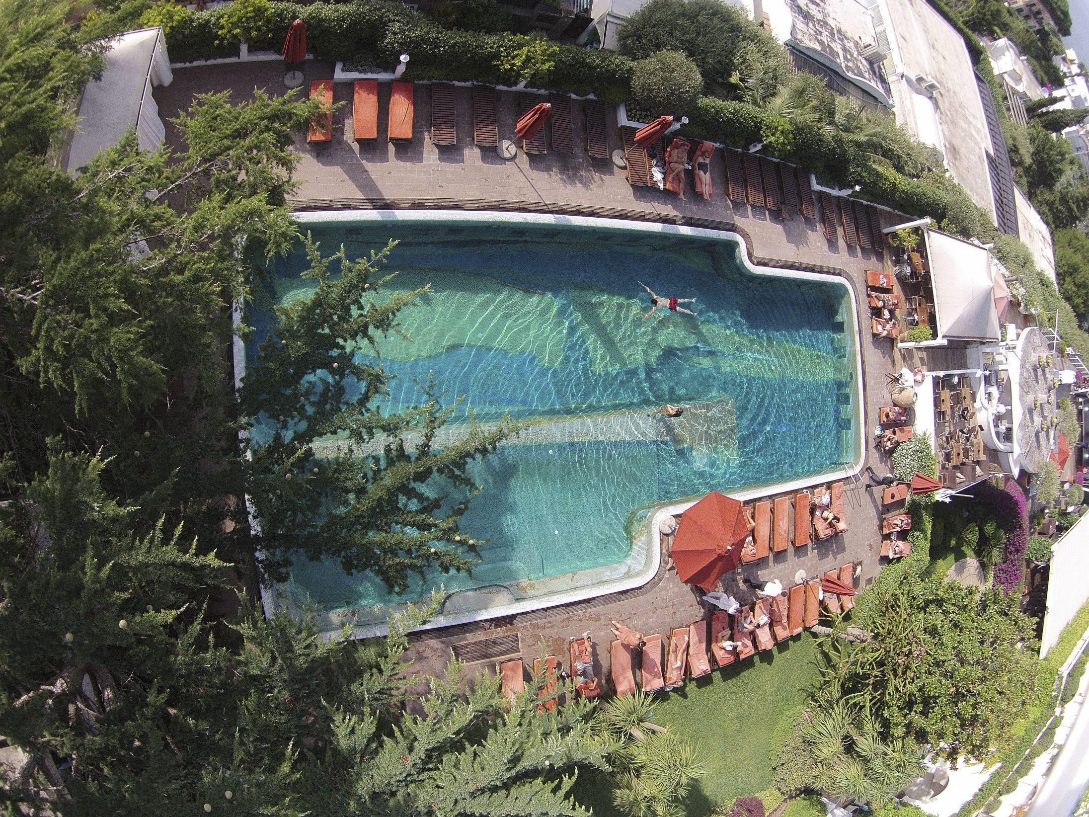 Capri Palace Anacapri Italy main pool at capri palace hotel & spa, anacapri, italy (con