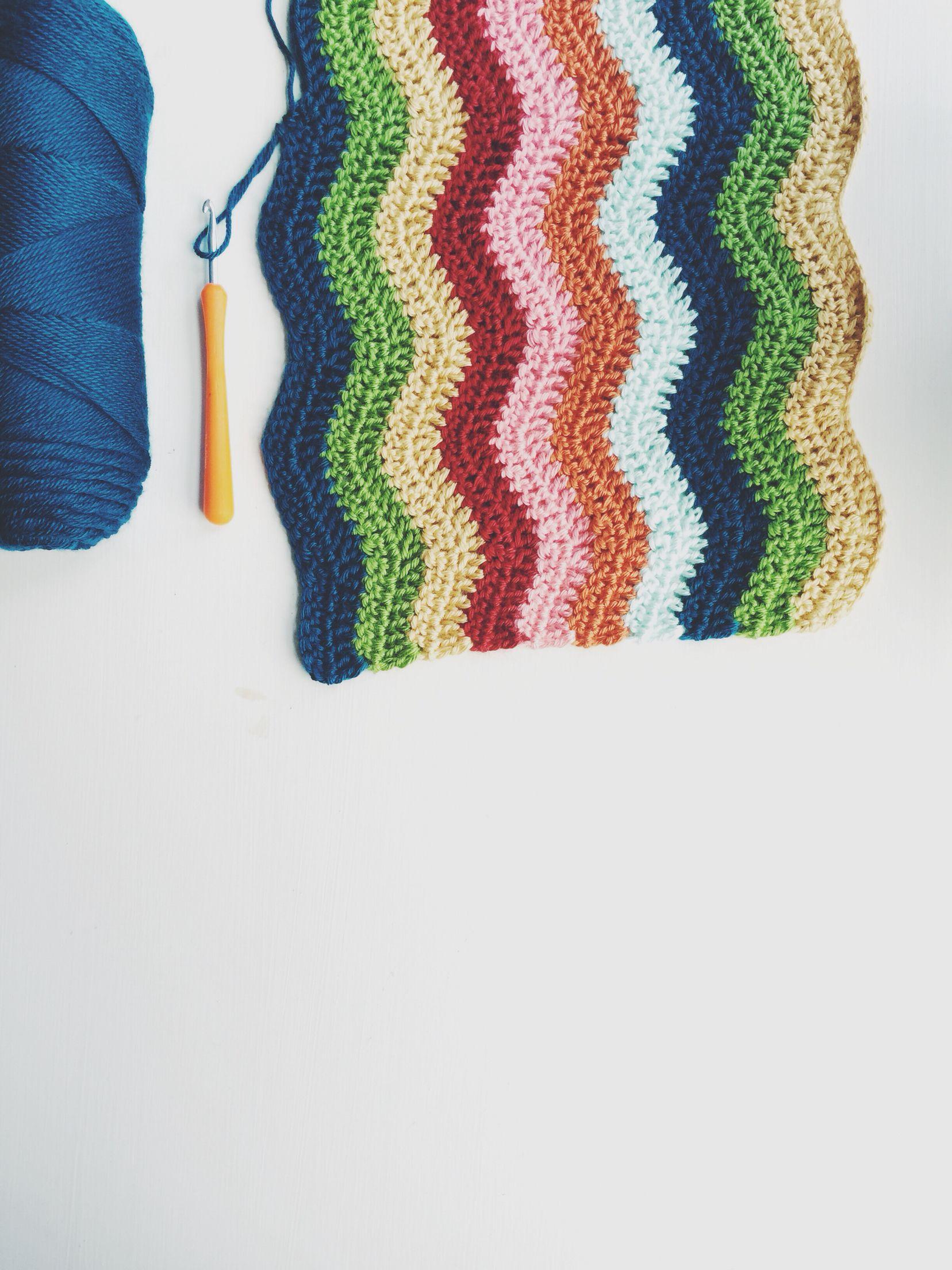 ripple blanket progress. | this pattern is delightful. #crochet ...