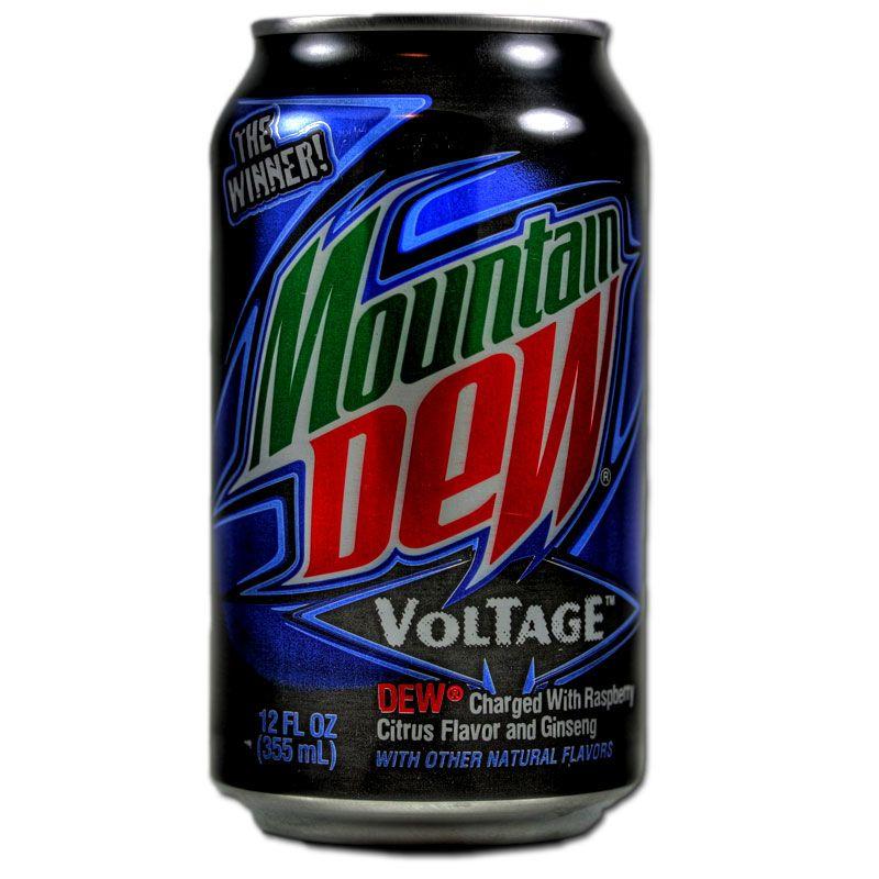 Mountain dew mountain dew voltage 340ml american