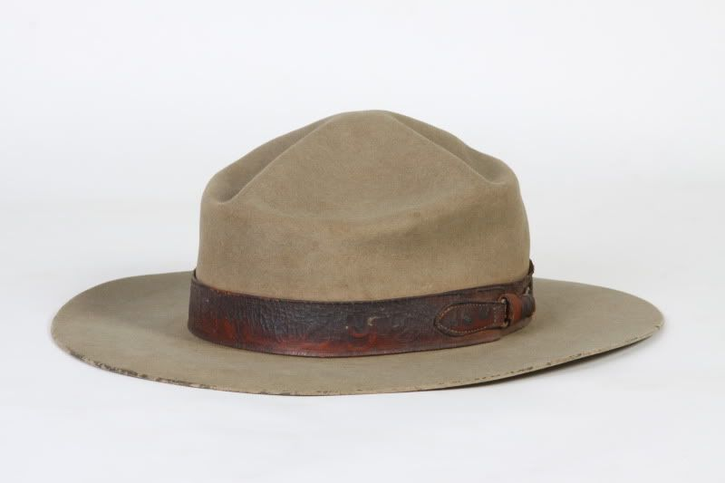 5c1aa49c The big difference between a boss of the plains and a campaign hat is the  grommets. An army campaign hat has them. A boss of the plains does not.