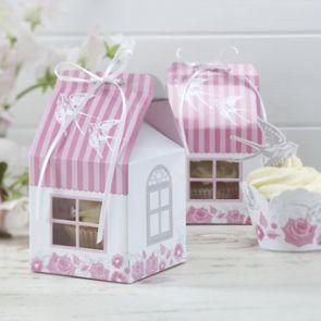 Enchanted Rose- Individual Cupcake Boxes