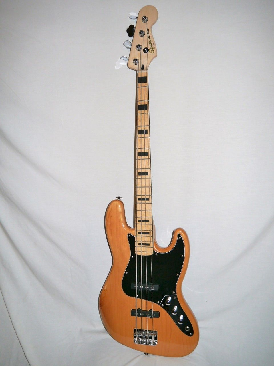 My eb bass squier vintage modified jazz bass - Indian Creek Guitars Squier Vintage Modified 70 S Jazz Bass Natural 219 00 Http