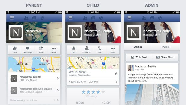 Facebook Updates Mobile Business Pages