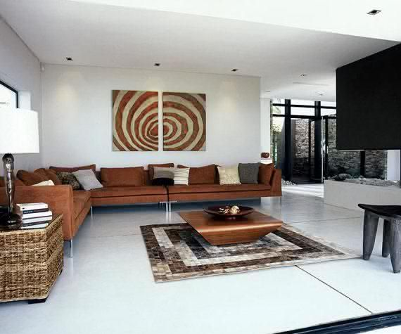 21 African Decorating Ideas For Modern Homes: Minimalist African Space