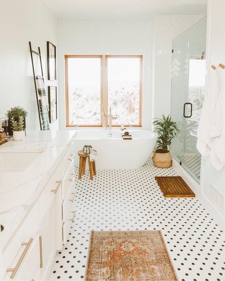 Round 2 Piece Wicker Rattan Basket Set Modern Bathroom Decor Home Remodeling Bathroom Decor