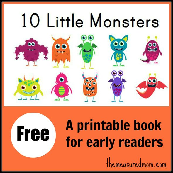 Afbeeldingsresultaat voor free printable book monsters