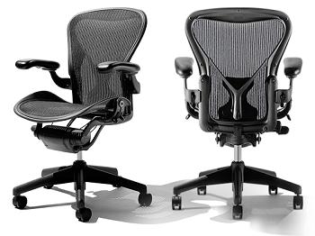 Herman Miller Aeron Home Office Ergonomic chair Tech Pinterest