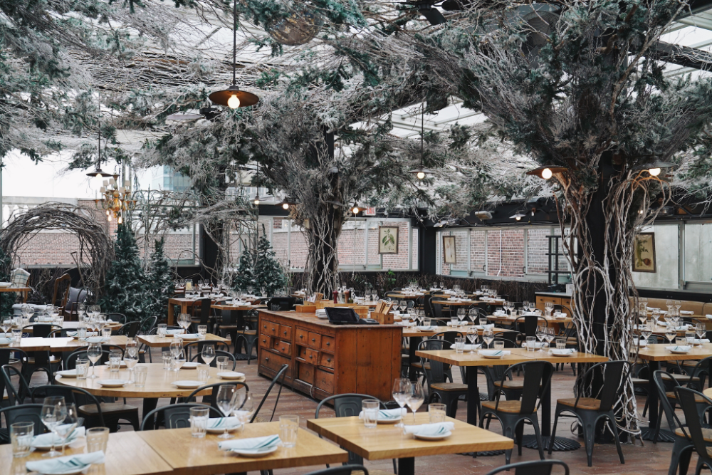 Eataly unveils magical winterthemed rooftop restaurant