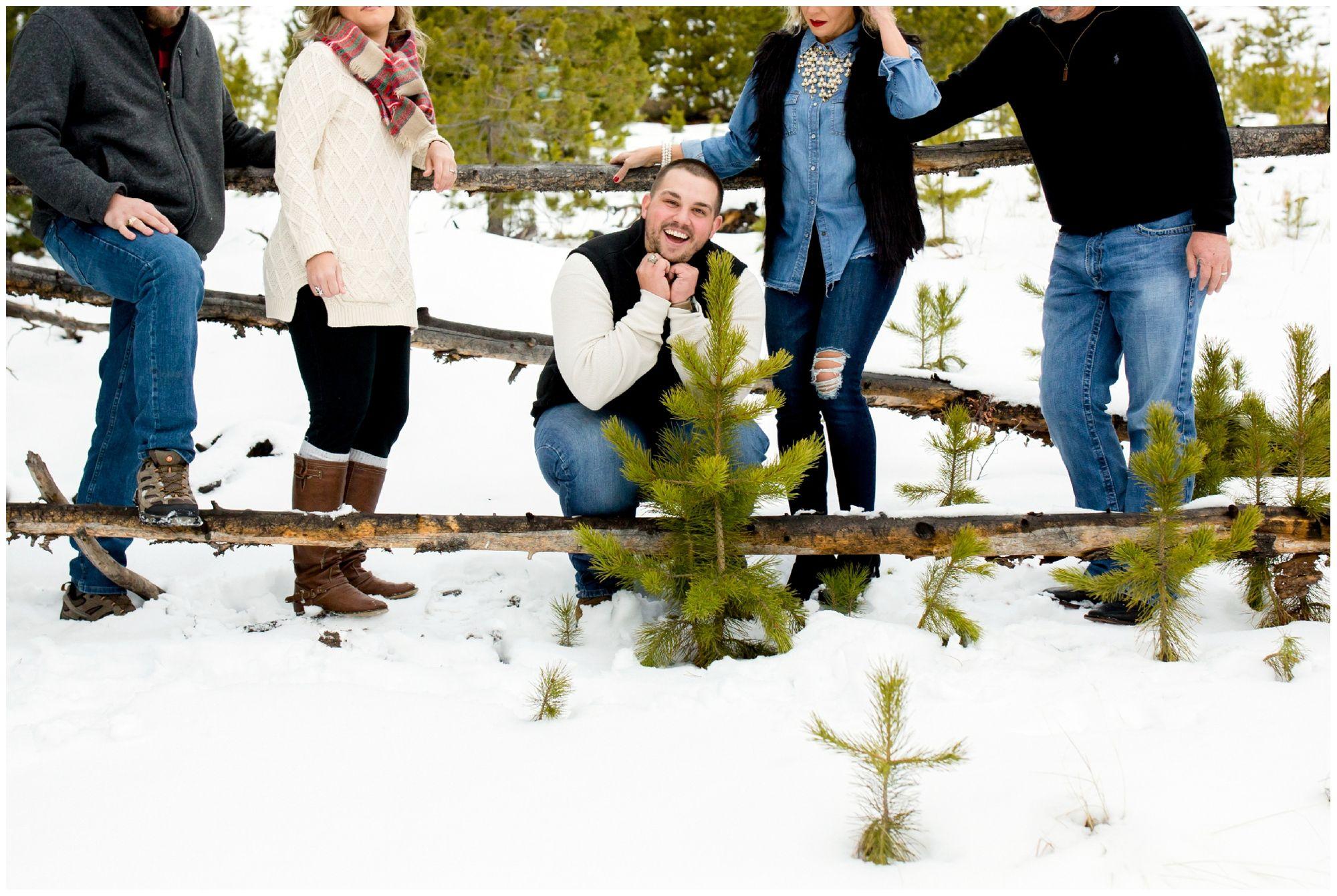 Breckenridge Family Photographers #winterfamilyphotography