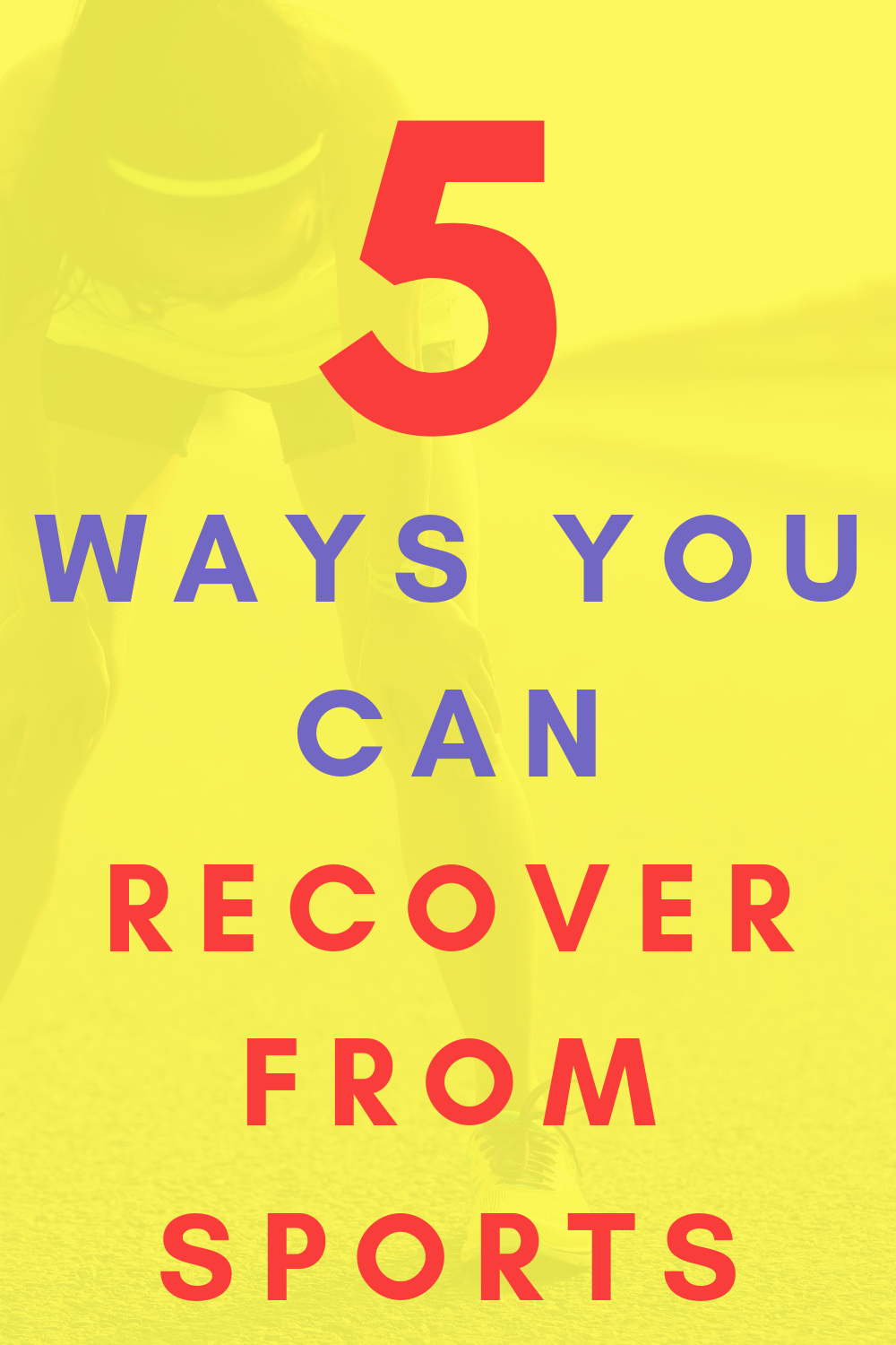 Here are 5 awesome ways to recover from your workout! #recovery #sports #fitness #workout #training...