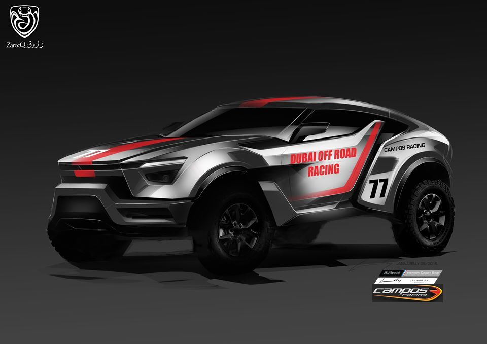 """Zarooq Motors The Zarooq """"Sand Racer"""" is the first car made in the ..."""