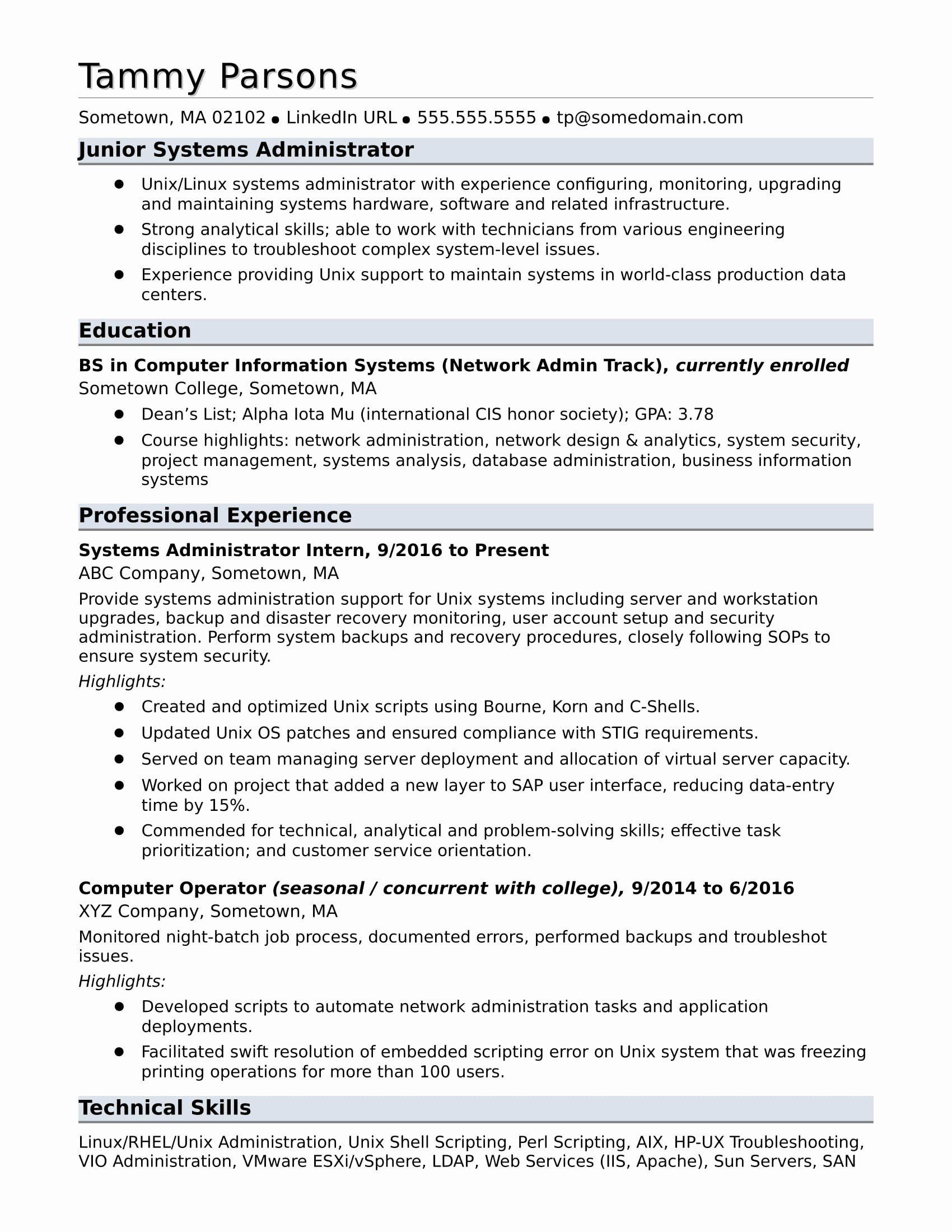 Entry level job resume template luxury sample resume for